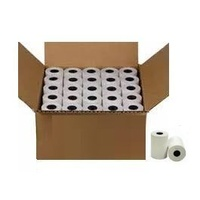 Plain Paper Rolls 1Pt 76mm Wide 76mm Dia Box of 50
