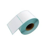LBLR-5050-01, Thermal Direct Paper, Perf between labels, 750/Roll, Perm Glue